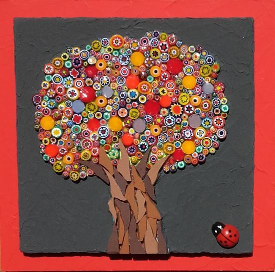 L'arbre à coccinelle (2016) Vendu