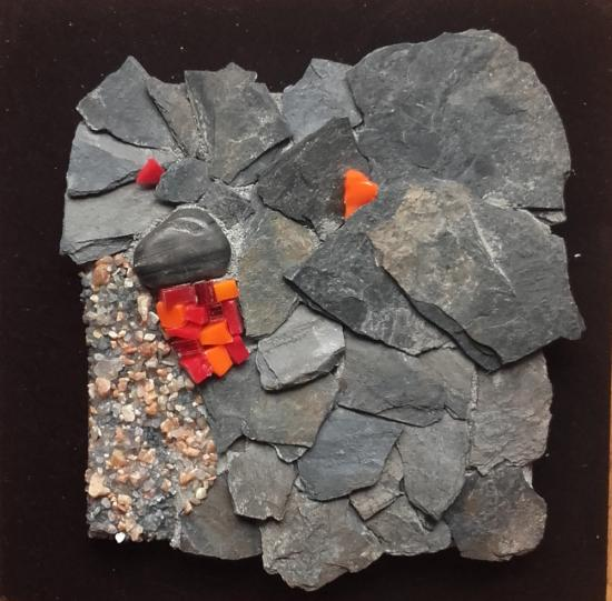 Fleurs d'ardoise (2016) vendu