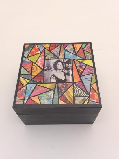 Boite à bijoux (10x10cm)